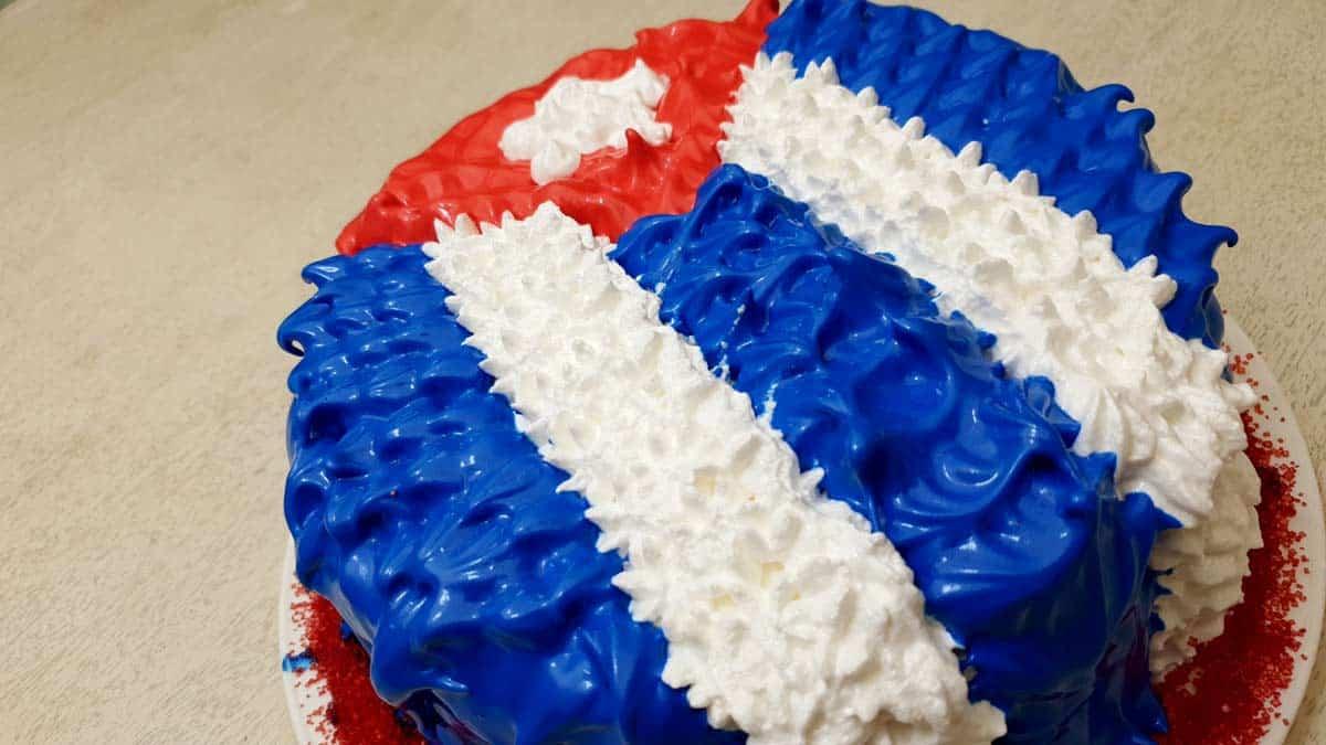 receta de cake cubano